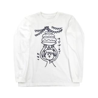 たんじょうび Long sleeve T-shirts