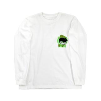 ザコ Long sleeve T-shirts