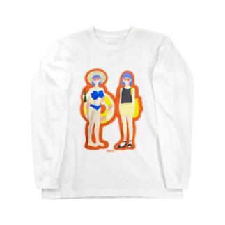 なつこちゃん Long sleeve T-shirts