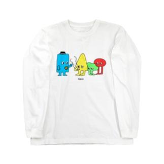 カタチ3 Long sleeve T-shirts