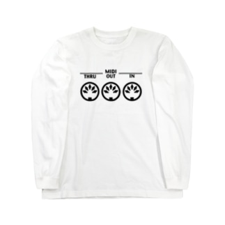 MIDI端子 Long sleeve T-shirts