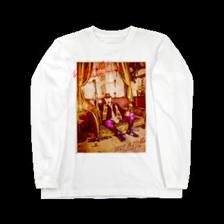 HAKO NO KIMAGUREの平日マスクグラフィック-レトロ- Long sleeve T-shirts
