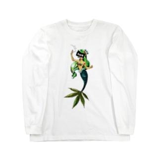 リトル・マーメイド 「fuck」 Long Sleeve T-Shirt
