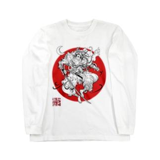 前田慶次 Long sleeve T-shirts