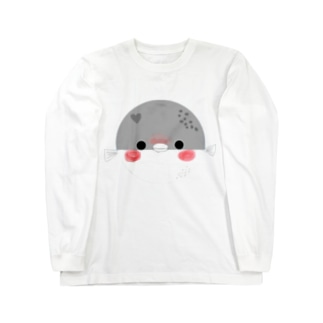 ふぐたろー。はーと Long sleeve T-shirts