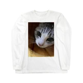 ねこまろ Long sleeve T-shirts