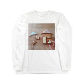 おかしのおうち Long sleeve T-shirts