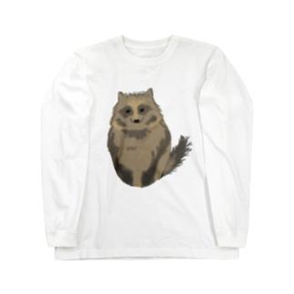 たぬー Long sleeve T-shirts