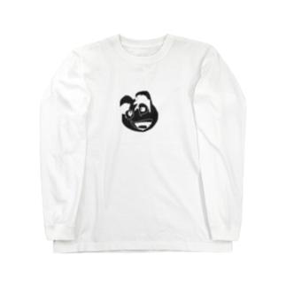 お犬パイセン「パチャンガ隊長」 Long sleeve T-shirts