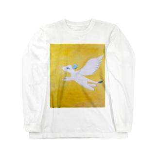 真昼の翼 Long sleeve T-shirts