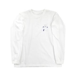 寝苦しい夜 negurushi ペットとの日常 Long sleeve T-shirts
