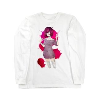 包帯ちゃん Long sleeve T-shirts