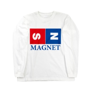 マグネット Long sleeve T-shirts
