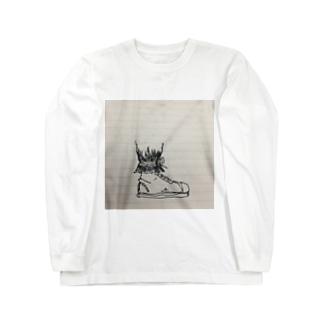 t_t.work:sneaker Long sleeve T-shirts