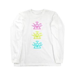 『うにちゃんモデル』 Long sleeve T-shirts