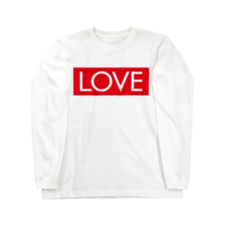 LOVE 赤ラベル Long sleeve T-shirts