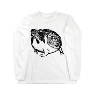 フクラガエル Long sleeve T-shirts