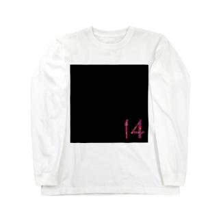 14【ダリア】黒 Long sleeve T-shirts