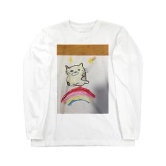 きょうはしあわせ Long sleeve T-shirts