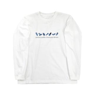 好きな靴 Long sleeve T-shirts