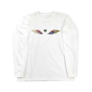 天使の羽 Long sleeve T-shirts