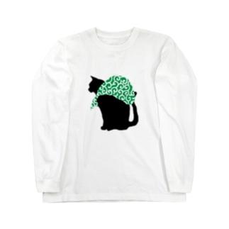泥棒猫 Long sleeve T-shirts