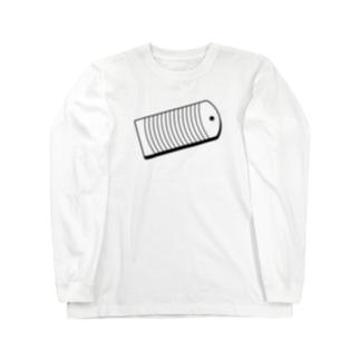 胸元に洗濯板 Long sleeve T-shirts