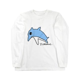 バンドウイルカ Long sleeve T-shirts