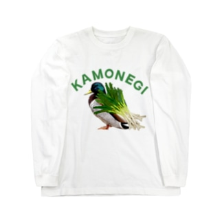 カモネギマスター2 トップス Long sleeve T-shirts