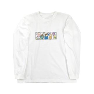 音モレズンチャカ Long sleeve T-shirts