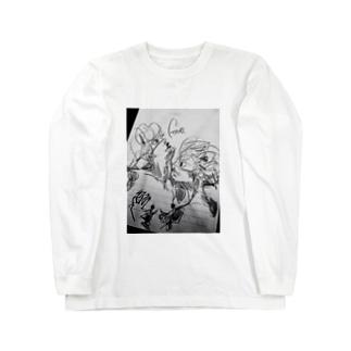 発情 Long sleeve T-shirts