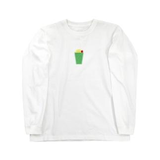 チープなクリームソーダ Long sleeve T-shirts
