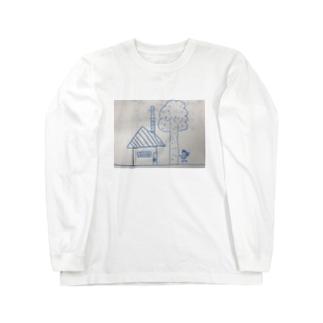 聖委員長のイラスト Long sleeve T-shirts