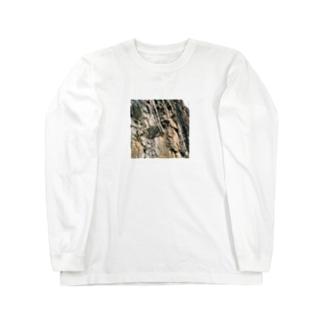 岩岩岩 Long sleeve T-shirts