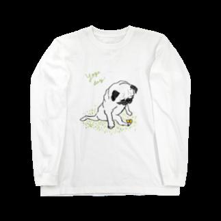 iccaのヨガパグ Long sleeve T-shirts