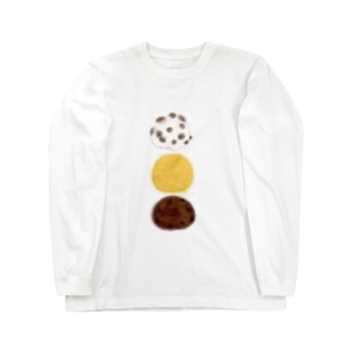 和菓子とりお Long sleeve T-shirts