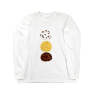iccaの和菓子とりお Long sleeve T-shirts