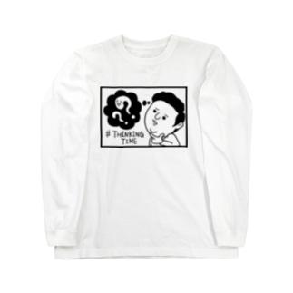 THINKING TIME Long sleeve T-shirts