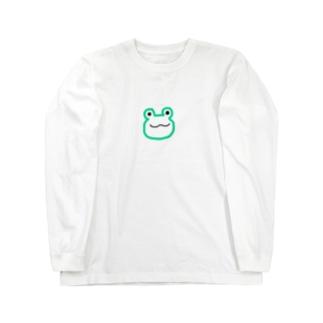 カエル Long sleeve T-shirts