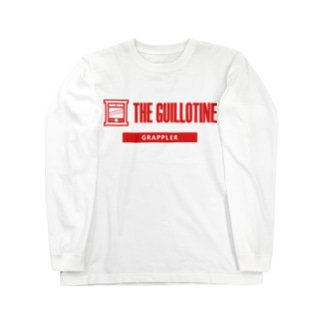 THE GUILLOTINE RED Long sleeve T-shirts