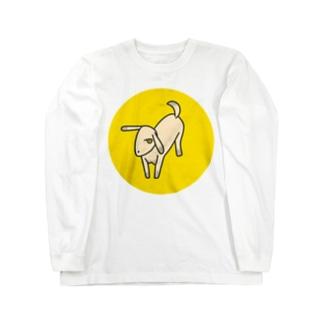 やわらかいヤギ Long sleeve T-shirts