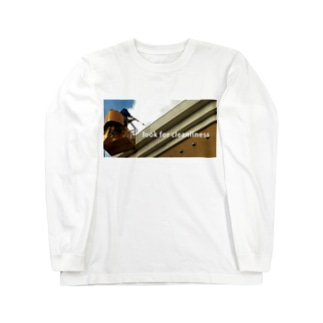 高圧洗浄 Long sleeve T-shirts