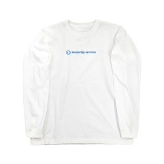 ロゴ Long sleeve T-shirts