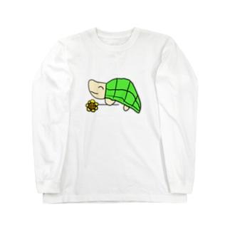かめさん Long sleeve T-shirts