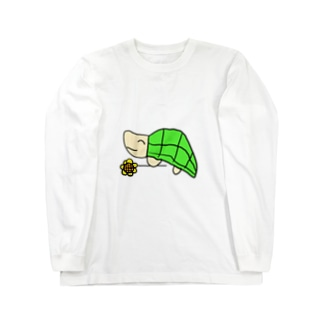 かめさん Long sleeve T-shirts