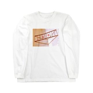 慎重にちゃん Long sleeve T-shirts