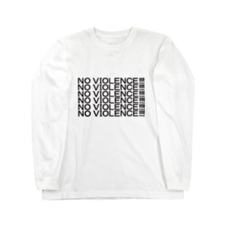 NO VIOLENCE!!! Long sleeve T-shirts