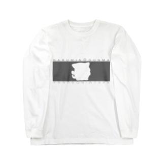 シルエットシリーズ(*^^*) Long sleeve T-shirts