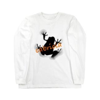 cabriola  frog Long sleeve T-shirts