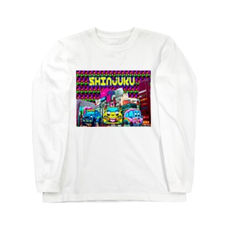psychedelic SHINJUKU    Long sleeve T-shirts